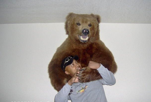 Cee Harmon Fights a Grizzly Bear Part 2